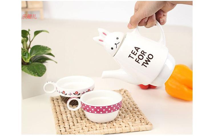 ชุดกาน้ำพร้อมแก้ว Tea for two <พร้อมส่ง>