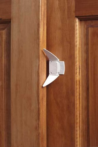 ที่ล็อคบานเลื่อนประตู-หน้าต่าง-ตู้ ป้องกันเด็กและสัตว์เลี้ยงเปิดเอง จากญี่ปุ่น บรรจุแพค 2 ชิ้น