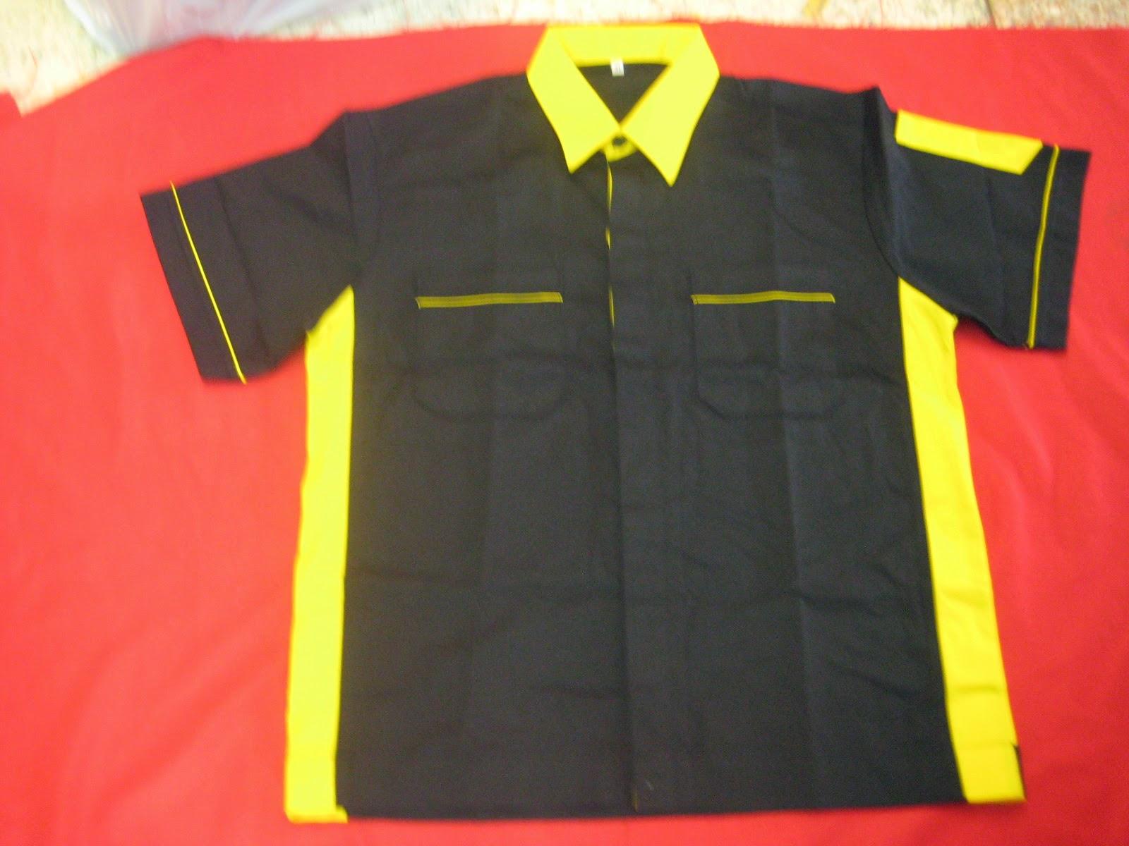 เสื้อช็อปตัดต่อสี (แขนสั้น) รุ่น D