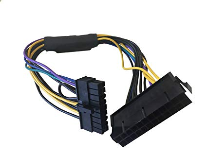 24 Pin to 18 Pin Power Supply Cable For HP Z420/Z620 Workstation