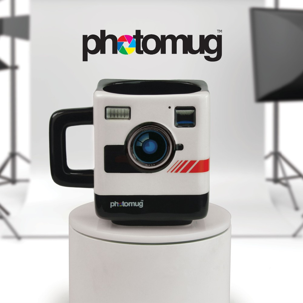 แก้วกล้อง Photo Mug < สินค้าพร้อมส่ง >