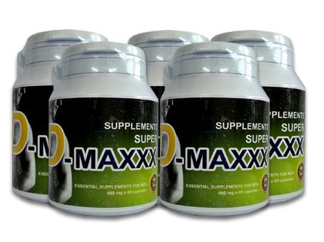Super D-maxxx จำนวน 5 กล่อง ขนาดบรรจุ 300 แคปซูล