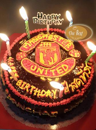 เค้กแมนยู (Manchester United Cake)