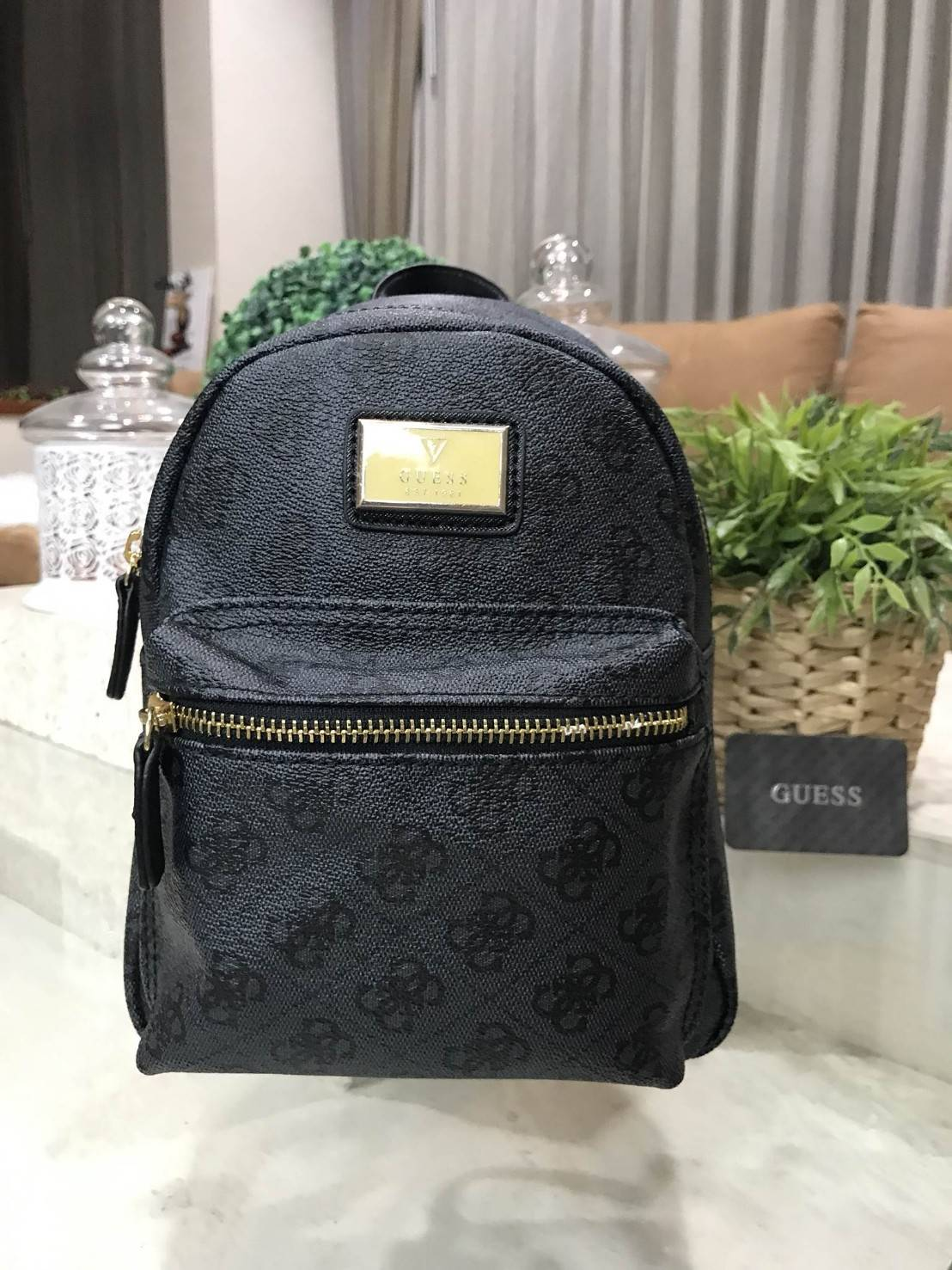 GUESS WOMAN BACKPACK 2018 free ถุงผ้า