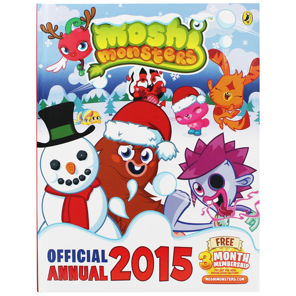 Moshi Monsters - Official Annual 2015