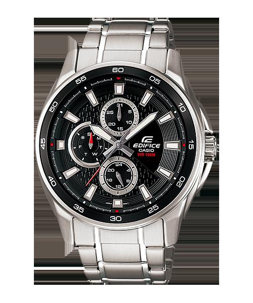 นาฬิกาข้อมือ CASIO EDIFICE MULTI-HAND รุ่น EF-334D-1AV