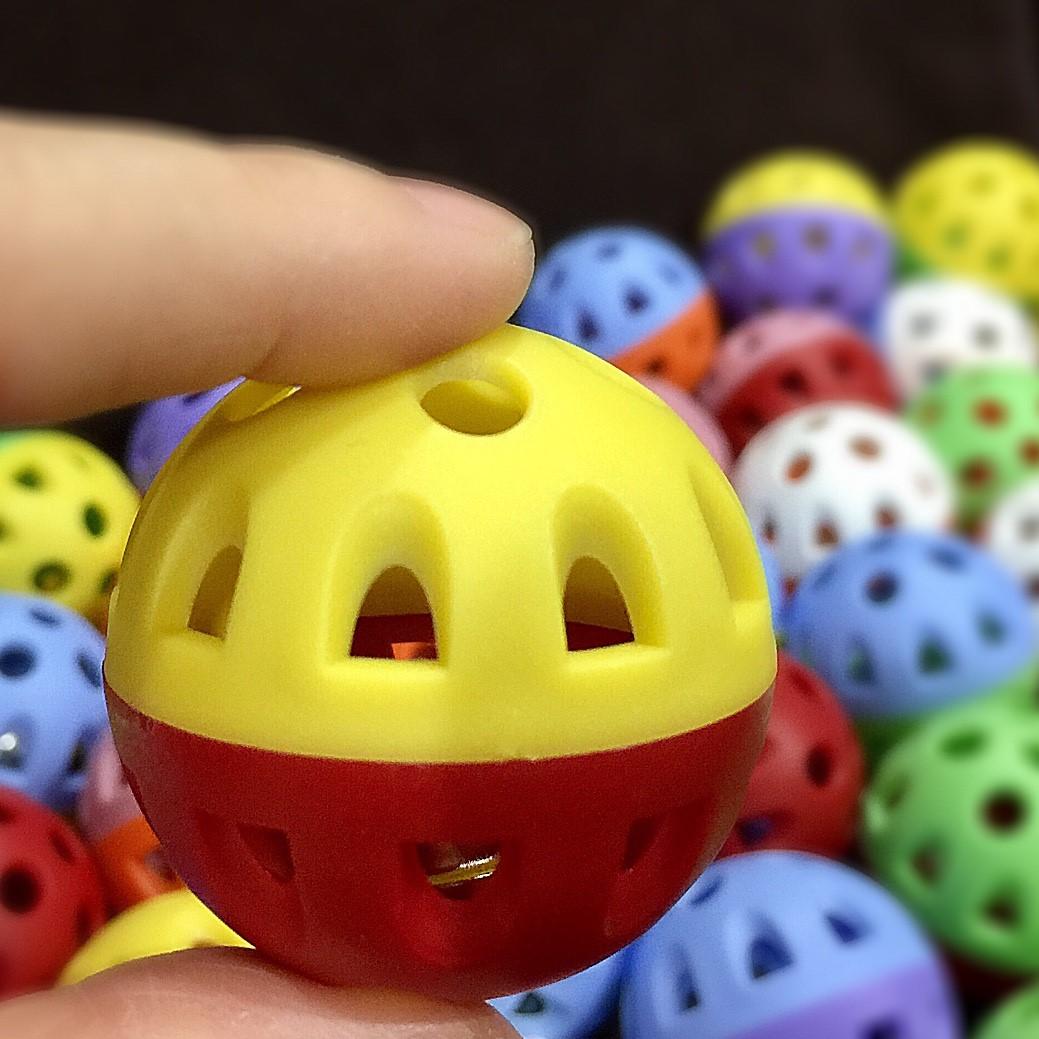 ลูกบอลกระดิ่ง (คละสี)