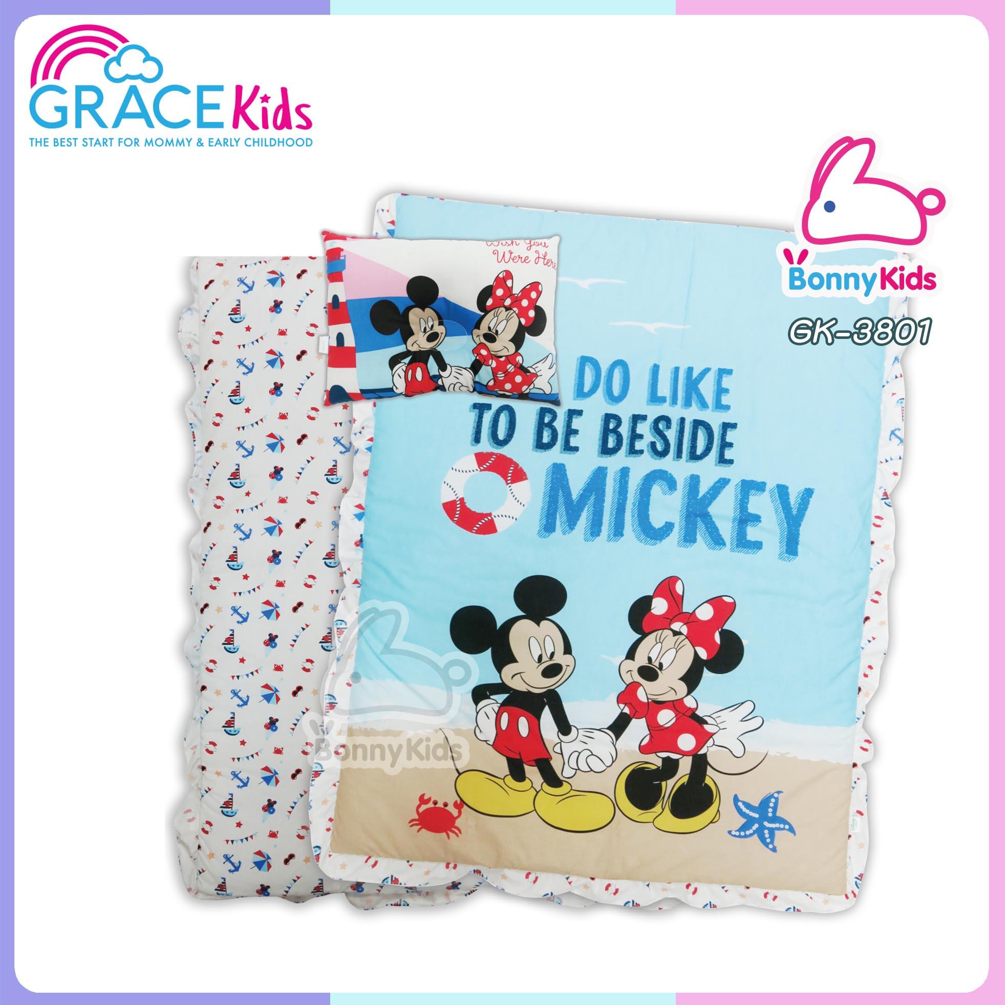เกรซคิดส์ ชุดปิคนิค Mickey Wish You Here ไซส์ L 30*40 นิ้ว