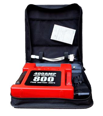 อุปกรณ์ในชุดเครื่องจั๊มสตาร์ทรุ่นNL02