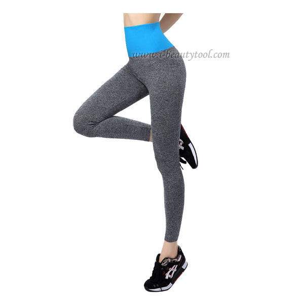 กางเกงออกกำลังกาย ผู้หญิง เล่นฟิตนิส โยคะ ขายาว - สีฟ้า