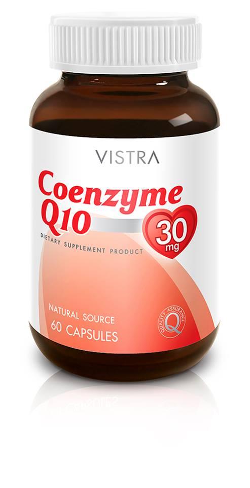 Vistra Coenzyme Q10 60 CAP (Softgel)