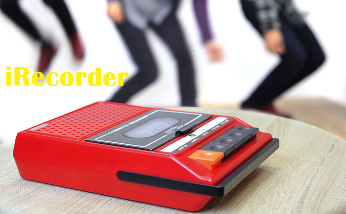 Retro iRecorder iPhone Speaker