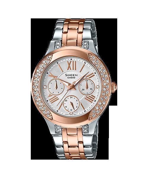 นาฬิกาข้อมือ CASIO SHEEN MULTI-HAND รุ่น SHE-3809SG-7A