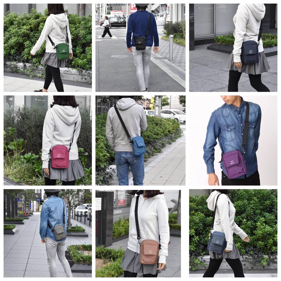 Anello Travel Square Mini Shoulder Bag