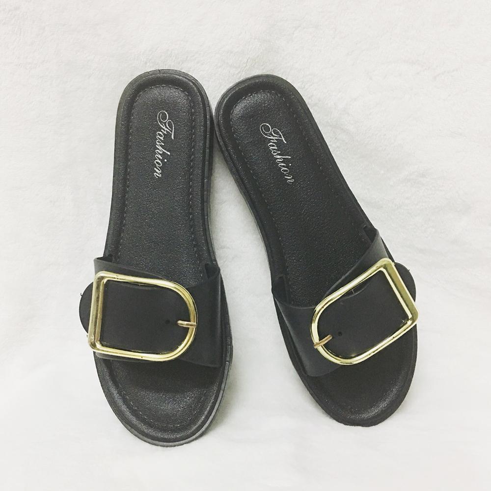 รองเท้าแตะ หัวเข็มขัดปรับได้ ไซส์ปกติ 36-40 รุ่น KR0581