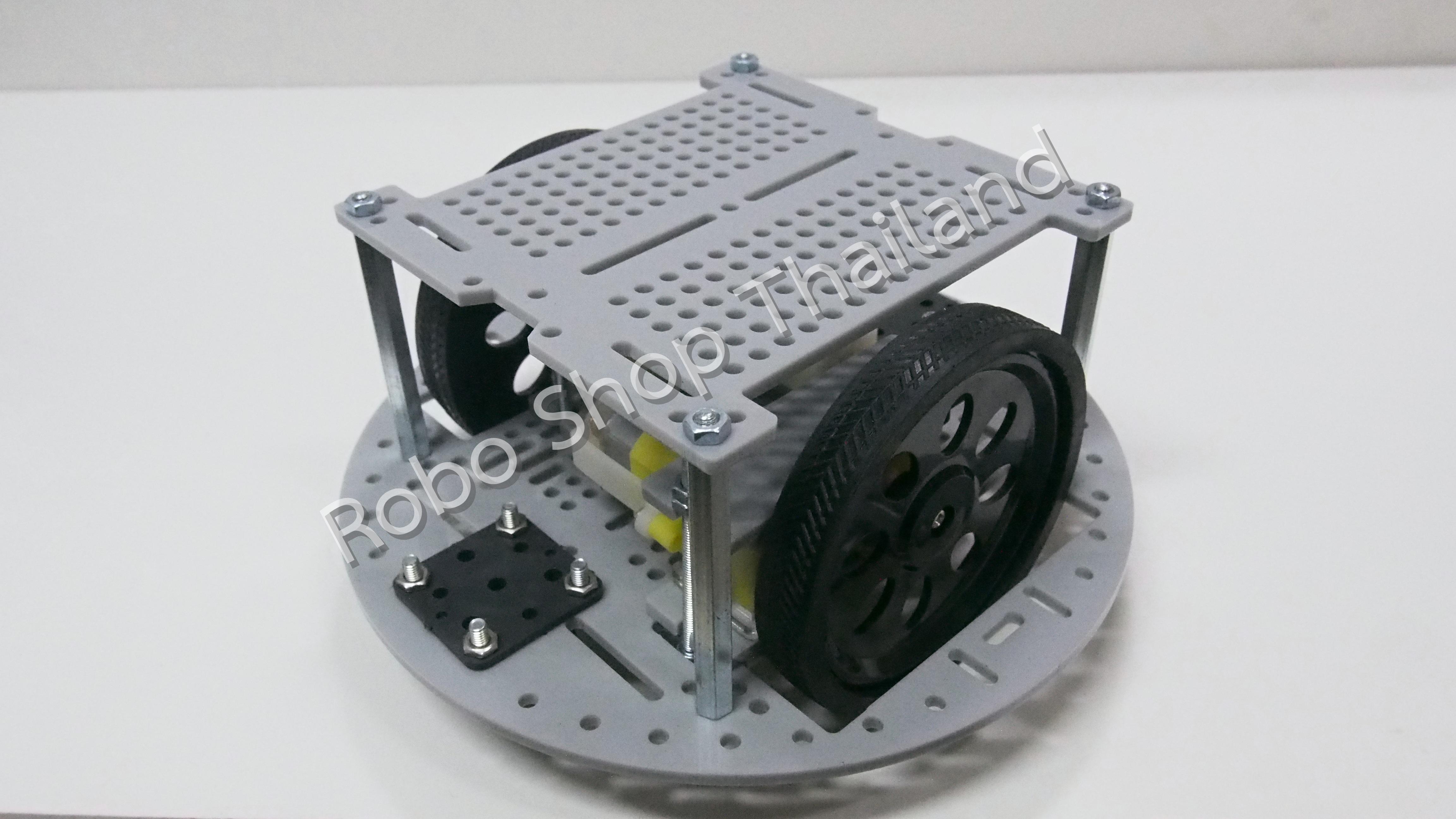 โครงหุ่นยนต์แบบไม่มี Encoder