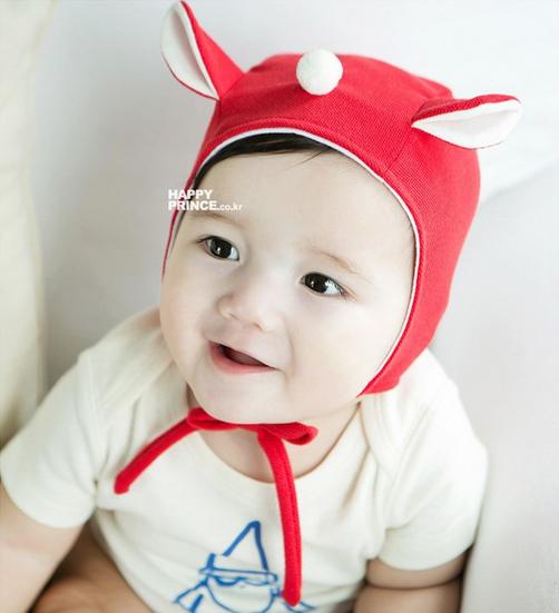 HT170••หมวกเด็ก•• / หมวกนักบิน (สีแดง)