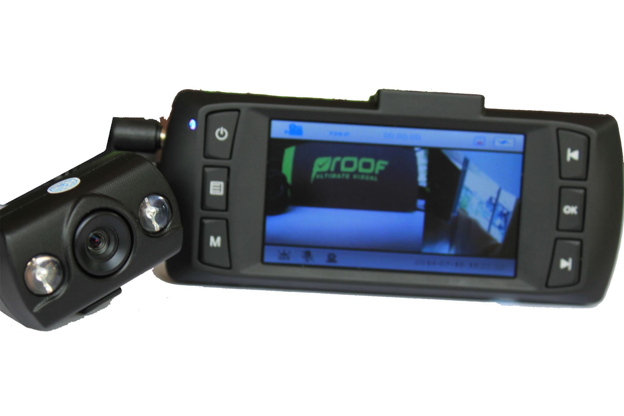 กล้องติดรถยนต์ 2 กล้อง รุ่น Proof-PF700
