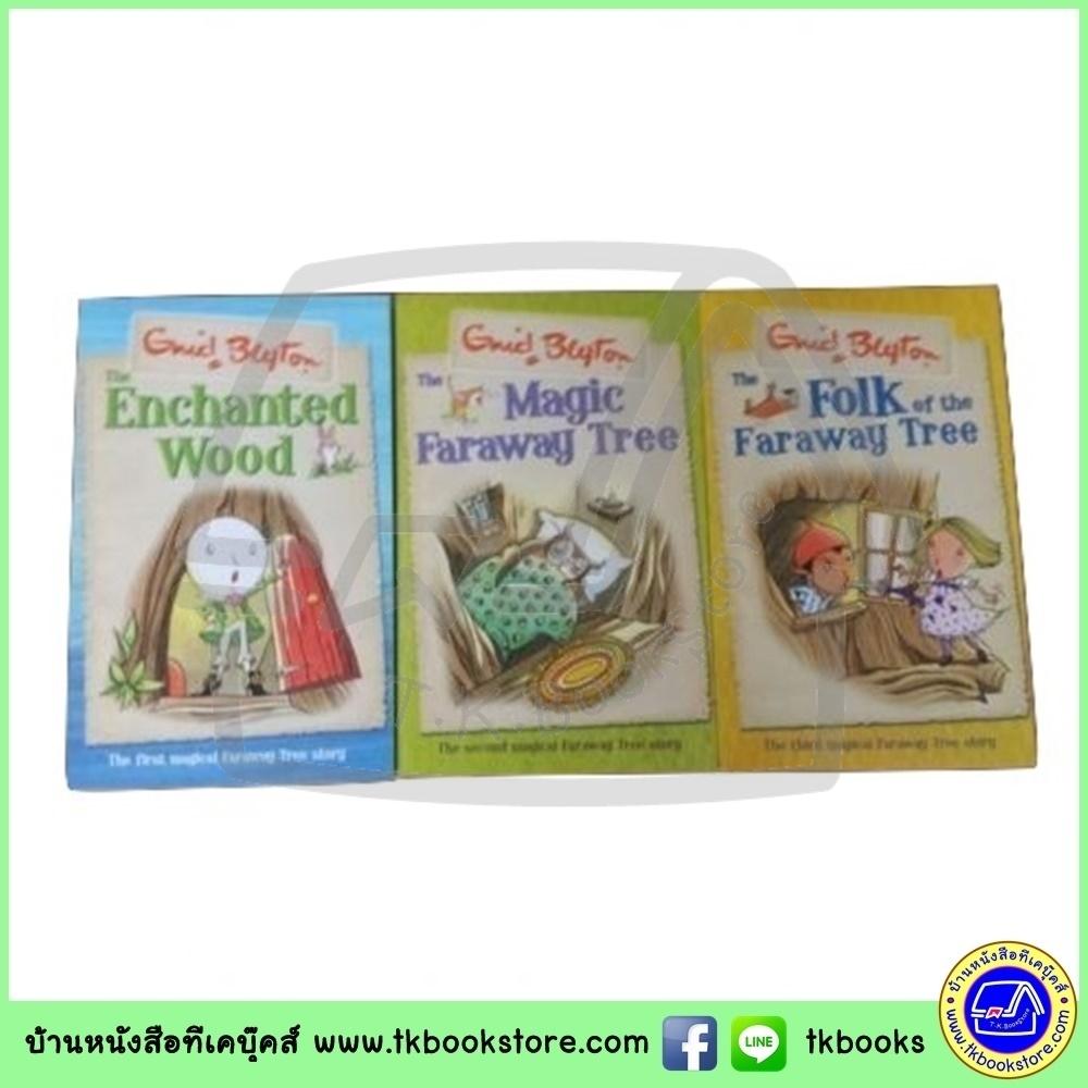 Enid Blyton : The Enchanted Wood, The Magic Faraway Tree, The Folk of the Faraway Tree - เซตหนังสือของเอนิด ไบล์ตัน 3 เล่ม