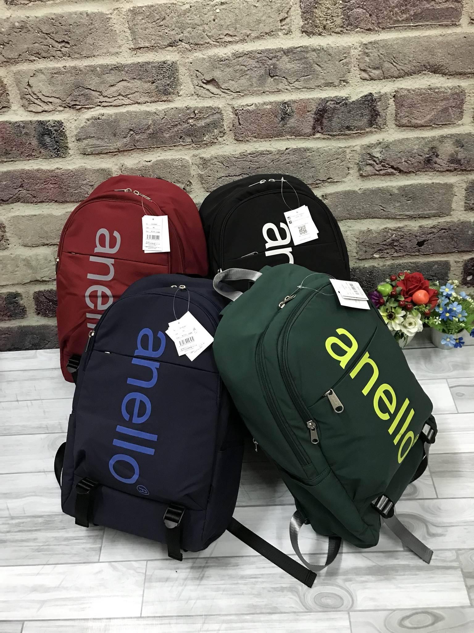 Anello Big Logo Print Daypack New Collection 2018