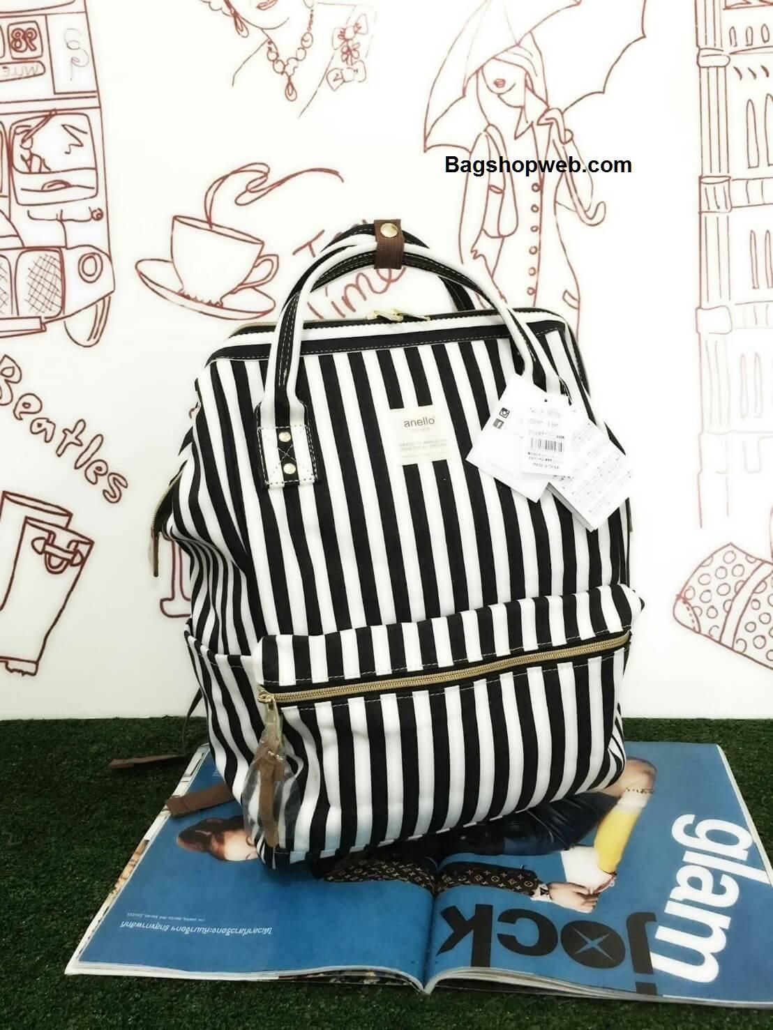 กระเป๋า Anello Casual Fabric Square Shaped Rucksack อีกรุ่นฮิตที่ขายดีสุดๆในญี่ปุ่น