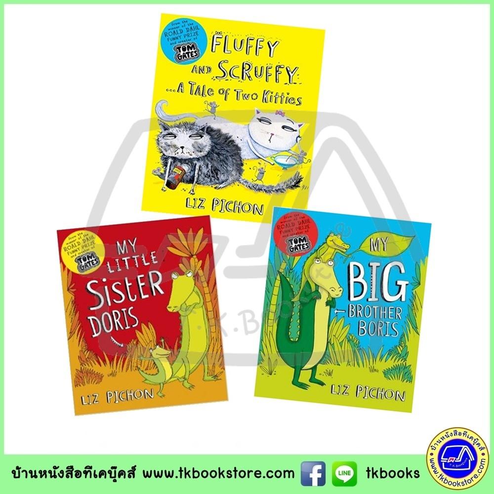 Liz Pichon Storybook Collection - 3 Books : Roald Dahl Funny Prize ซีรีย์นิทานของลิซ ผู้แต่ง Tom Gates