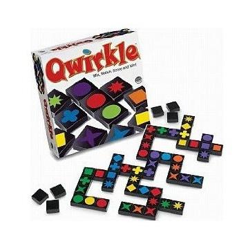 ของเล่นไม้ Qwirkle 108 ชิ้น Mix, Match, Score, and Win