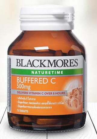 Blackmores Buffered C 500 mg 75 เม็ด