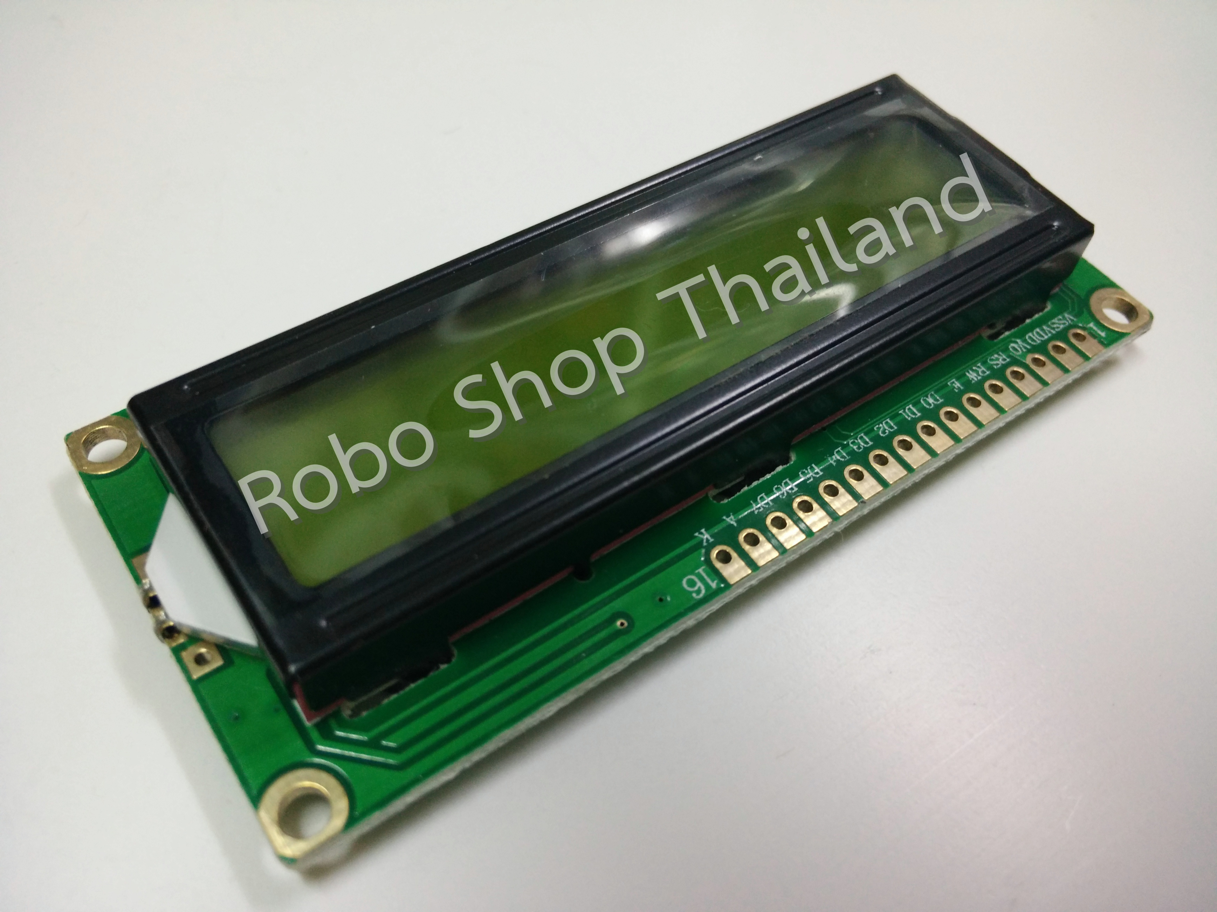 LCD 16x2 Yellow