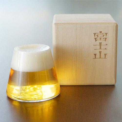 แก้วเบียร์ภูเขาไฟฟูจิ < พร้อมส่ง >