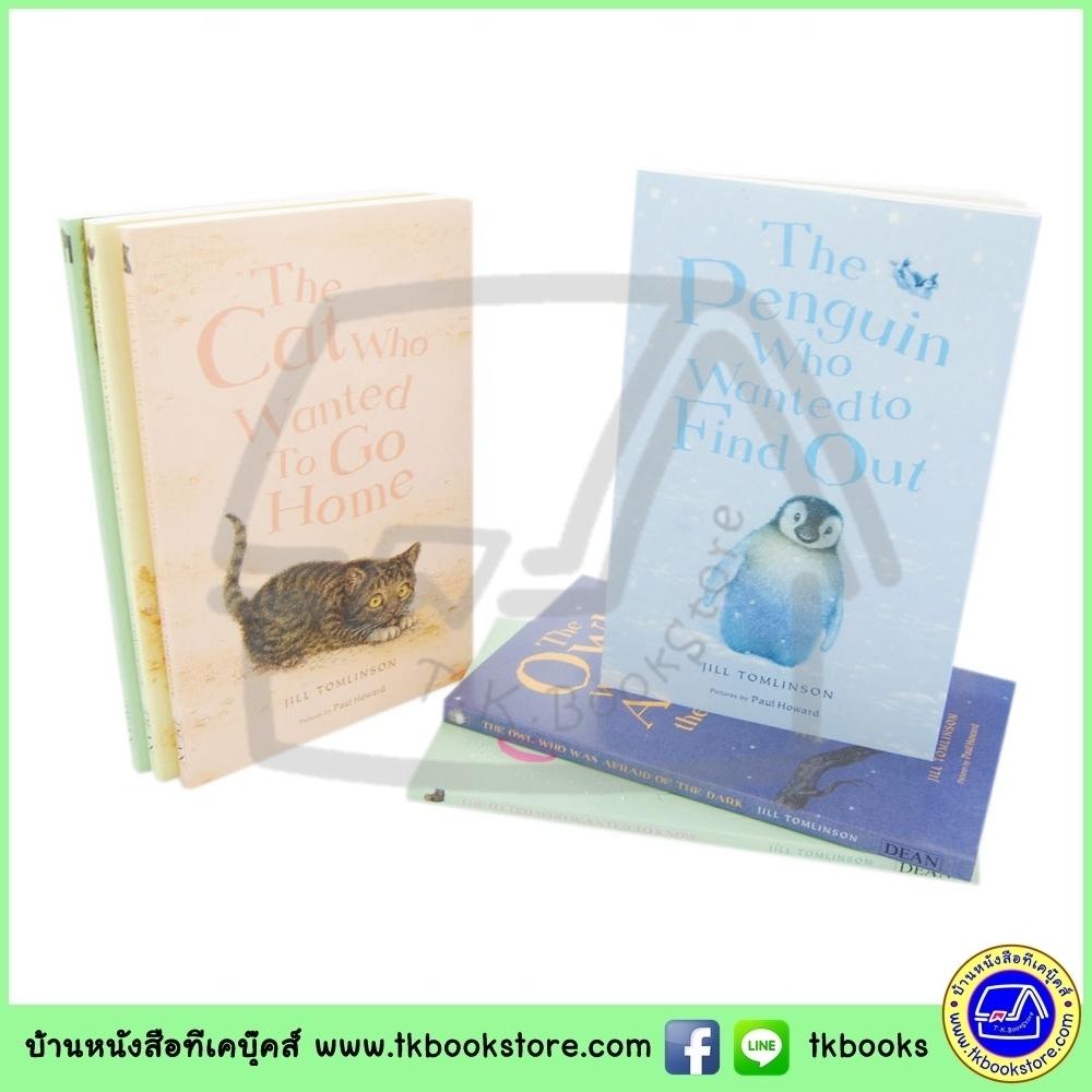 Favorite Animal Stories : Jill Tomlinson เซตเรื่องราวอันอบอุ่นเกี่ยวกับลูกสัตว์ 6 เล่ม