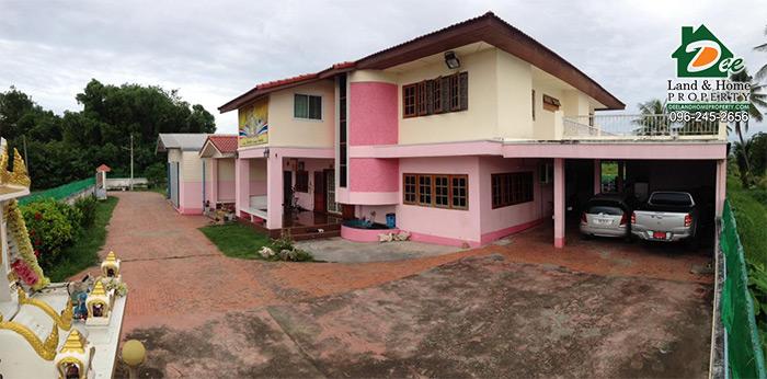 บ้านเดี่ยว พร้อมโรงงาน 340ตรว. ซอยสามพราน12 ท่าตลาด สามพราน นครปฐม