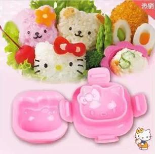 พิมพ์กดไข่ต้ม พิมพ์ข้าวปั้น Hello Kitty <พร้อมส่ง>