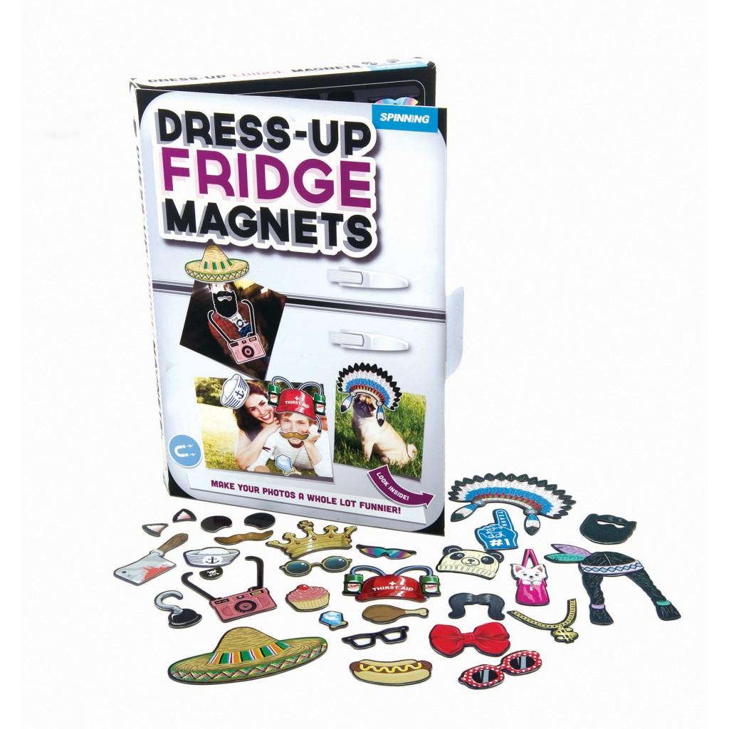 แม่เหล็กแต่งตัว dress-up fridge magnets <พร้อมส่ง>