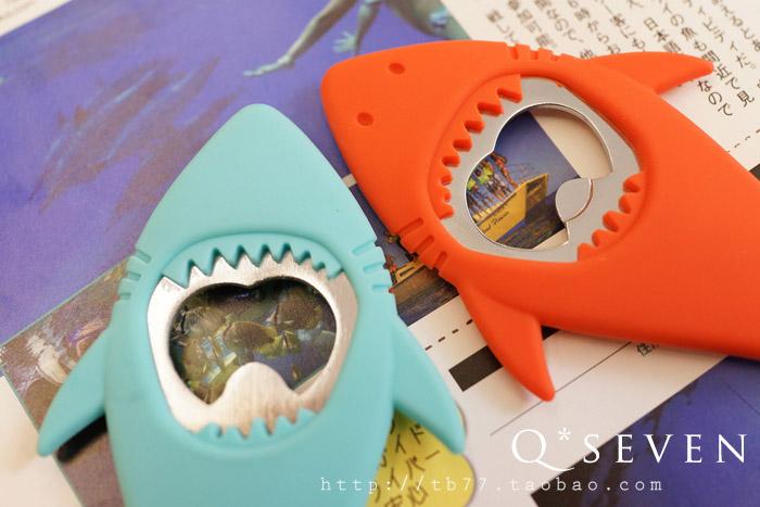 ที่เปิดฝาขวดรูปปาฉลาม < พร้อมส่ง >