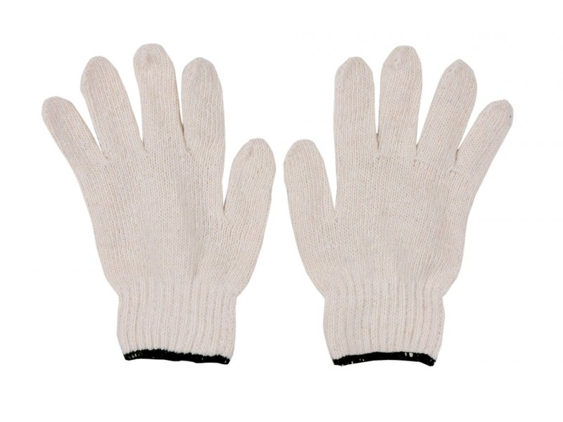 ถุงมือผ้าขอบเขียว 5 ขีด ถุงละ 10โหล