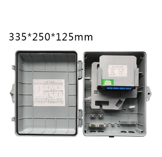 กล่องใส่ PLC 1:8-16 Outdoor มีชุดเก็บสาย 12 core