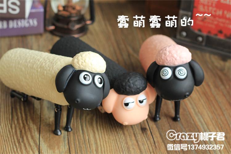 ขวดแก้วโมเดล ลายแกะ Shaun the Sheep <พร้อมส่ง>