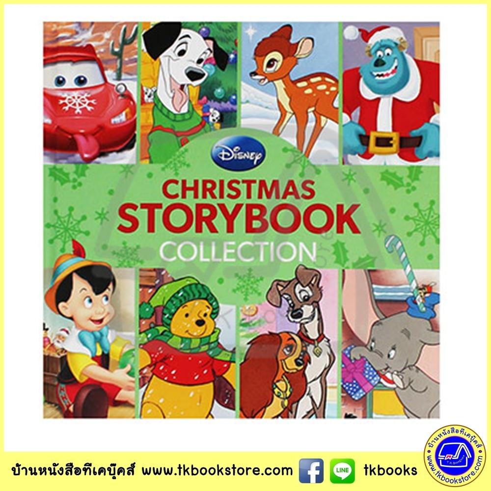 Disney : Christmas Storybook Collection รวมนิทานดิสนีย์ ธีมคริสมาส หมีพูห์ พินอคคิโอ แบมบี้