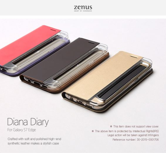 Zenus Diana Diary for Galaxy S7 Edge/Samsung/SM-G935