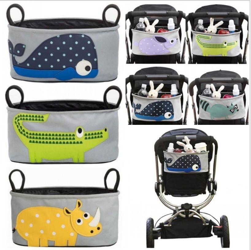กระเป๋าติดรถเข็นเด็ก Stroller Organizer
