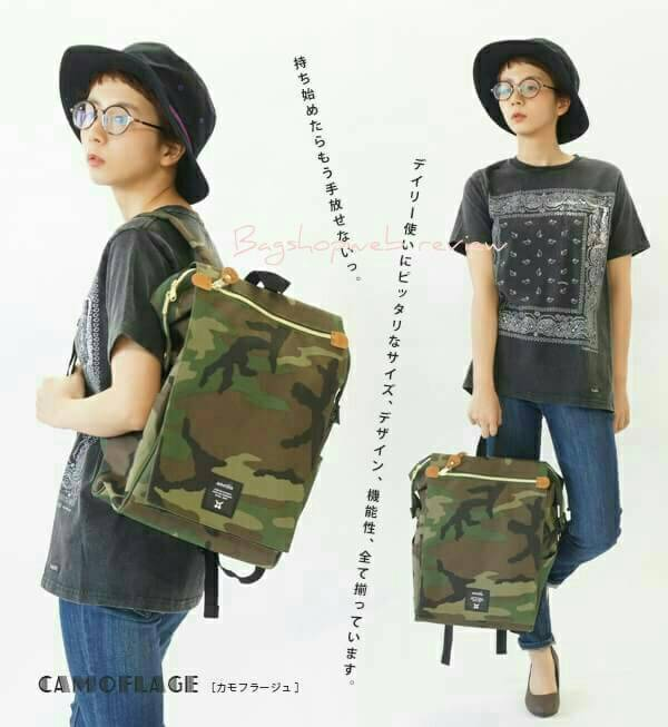 กระเป๋าเป้ Anello flap rucksack polyester canvas แบรนด์ดังรุ่นใหม่มาอีกแล้วว วัสดุผ้าแคนวาสเนื้อดี ยังคงเอกลักษณ์ความกว้างของปากกระเป๋าเพื่อการใช้งานที่ง่ายและสะดวก รุ่นนี้มีช่องเก็บสัมภาระมากมาย ทั้งภายในและภายนอก ด้านข้างใส่ขวดน้ำได้ ด้านหลังยังคงเป็นช่