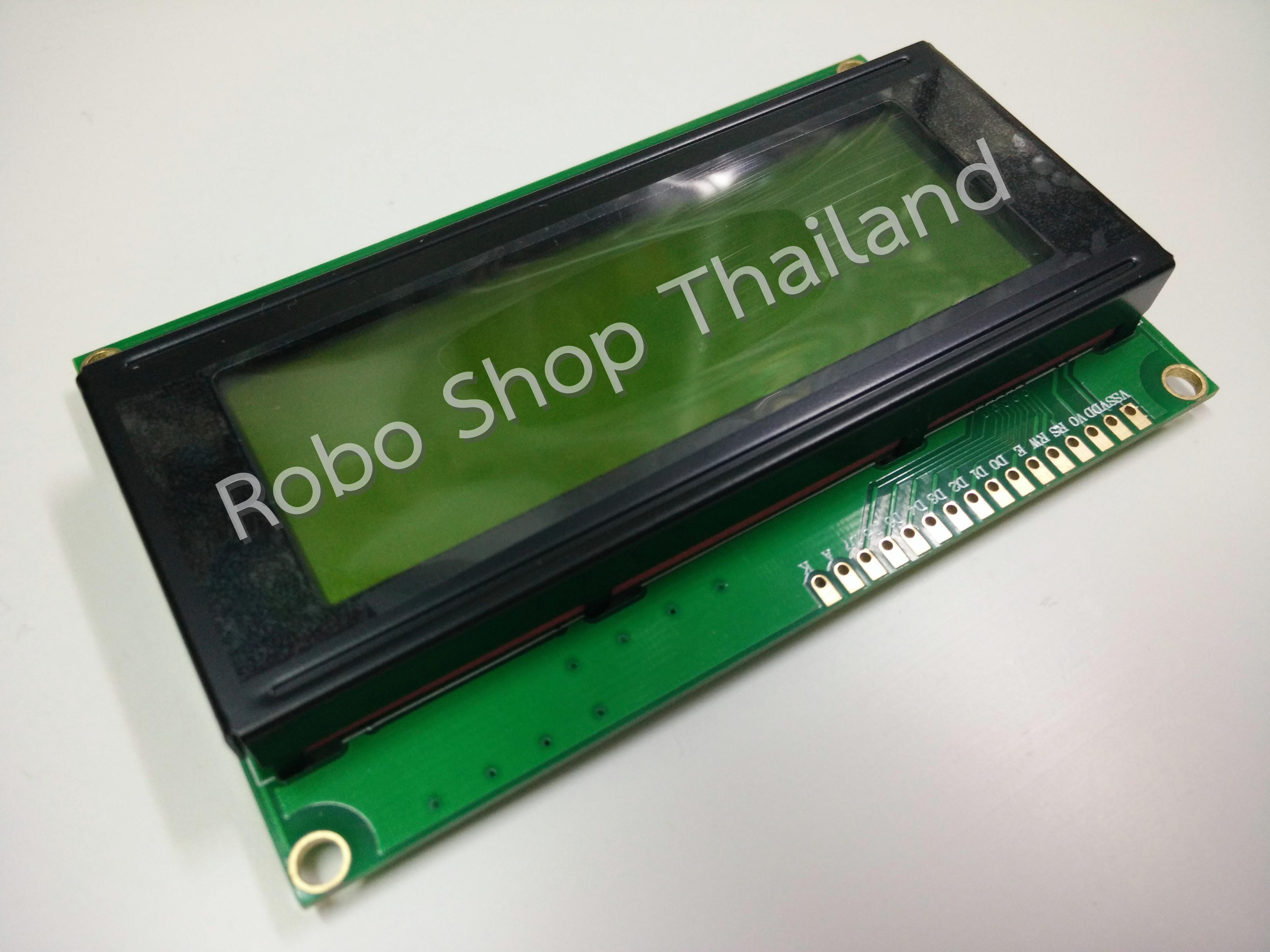 LCD 20X4 Yellow