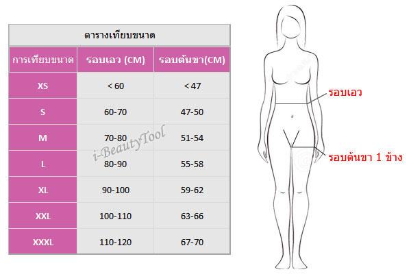 กางเกงกระชับสัดส่วน สำหรับคนดูดไขมันโดยเฉพาะ