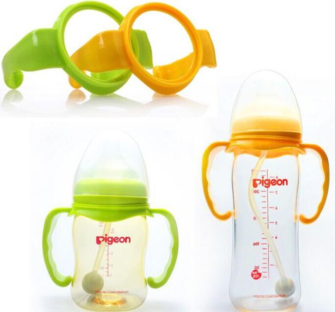 ที่จับขวดนม สำหรับขวดพีเจ้นเสมือนนมมารดา ฐานกว้าง ทุกขนาดความจุ BPA-Free
