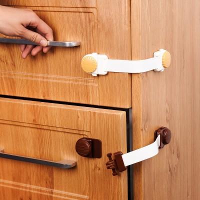 ที่ล็อคลิ้นชัก-ตู้ กันเด็กรูปขนมคุ๊กกี้น่ารัก จากญี่ปุ่น แบบสายยาว (เด็กเปิดเองยากมาก)