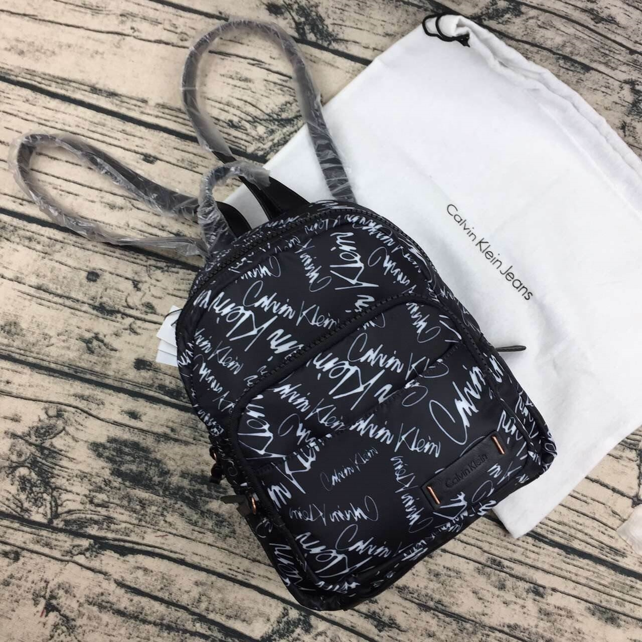 Calvin Klein Nylon Mini Backpack free ถุงผ้า