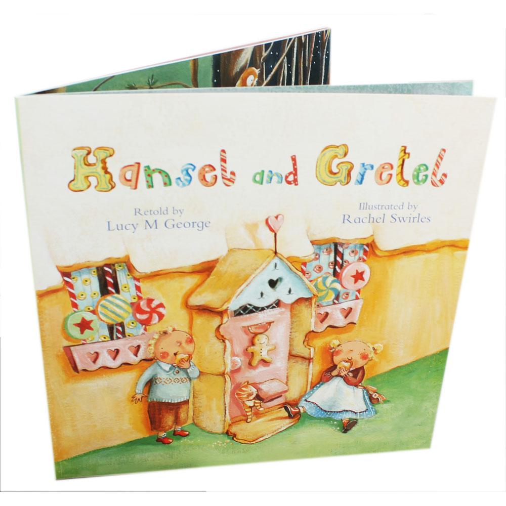 Hunsel and Gretel ฮันเซลและเกรเทล หนังสือภาพปกอ่อนเล่มโต