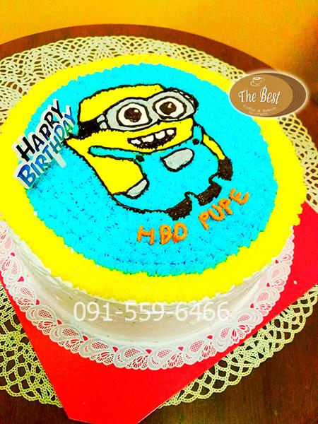 เค้กมินเนี่ยน (Minion Cake)