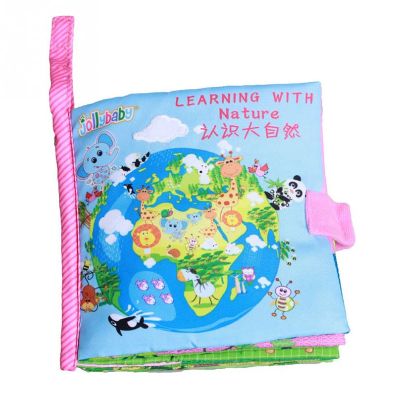 หนังสือผ้า Learning with Nature by Jollybaby